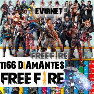 1166 Diamantes Free Fire | Evirnet