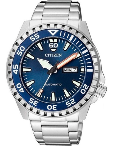 Relógio Citizen Masculino Automático Marine Sport Nh8389-88l / Tz31203f