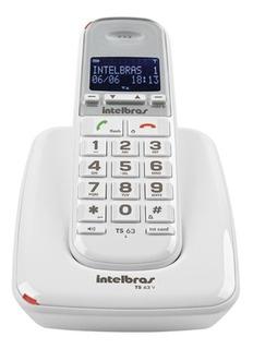 Teléfono Inalámbrico Intelbras Ts63v Con Monitoreo Para Bebé