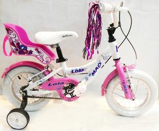 Bicicleta Infantil Niña - Mao Lola Rodado 12(envio Gratis)