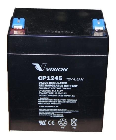 Bateria De Gel 12v 4.5ah Vision Para Ups Emerson Apc Eaton