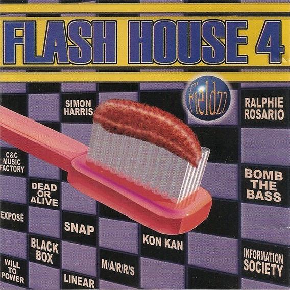 9 Cds Flash House (1000 Músicas) Flash Back House & Remix