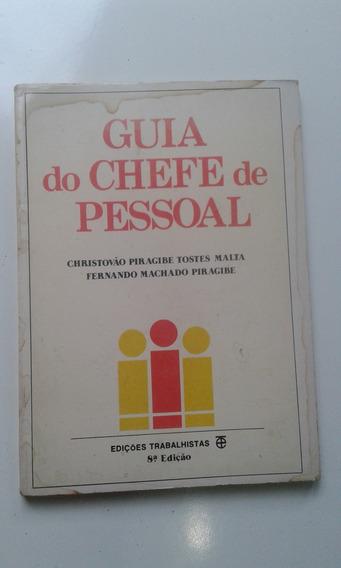 Livro - Guia Do Chefe De Pessoal - Com Mancha De Umidade