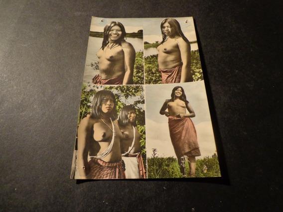Paraguay- Indígena- 4 Diferentes- Claus Henning Foto-ver Des