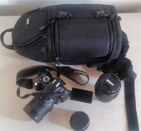 Camera Nikon D5100 Com Acessórios