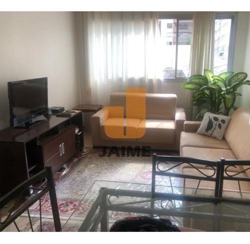 Apartamento Ensolarado Com 110 Metros, 1 Vaga, Próximo Ao Shopping Higienópolis.  - Bi5086