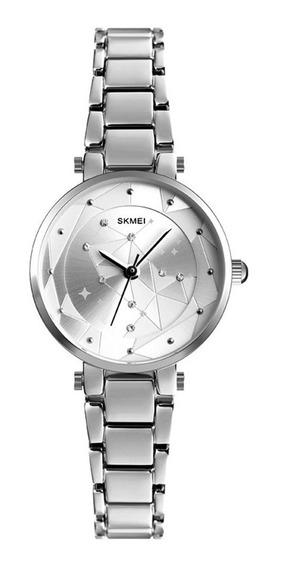 Skmei De Las Mujeres Minimalista Reloj Moderno Impermeable