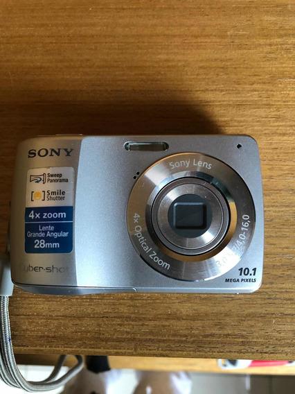 Câmera Digital Sony Cyber Shot 4x-10.1 Mega Pixels