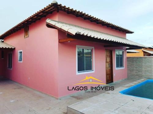 Imagem 1 de 11 de Casa Com 02 Quartos No Cond. Gravata Em Unamar- Cabo Frio/rj