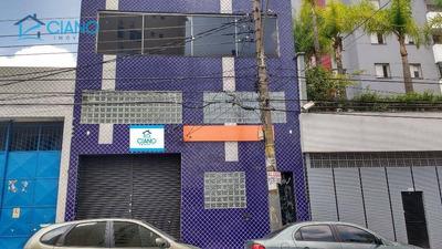 Galpão Comercial Para Locação, Mooca, São Paulo. - Ga0022