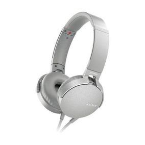 Headphone Sony Mdr-xb550ap Extra Bass Branco C/ Nota Fiscal
