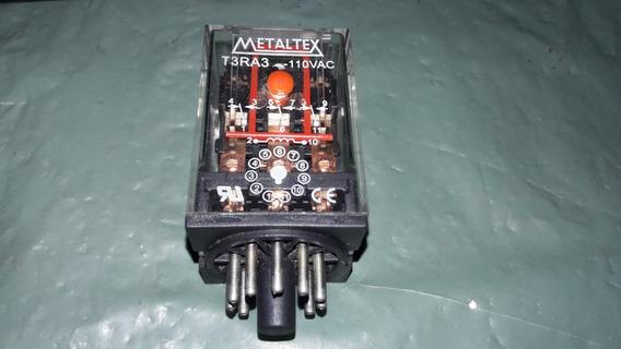 Rele T3ra3/l 110vac Metaltex Lote C/2 (2370)
