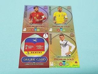 Cards Da Copa De 2018 - Limited Edition Premium