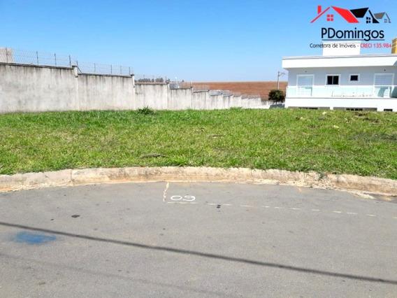 Terreno À Venda De 401,00 M² No Condomínio Residencial Jardim De Mônaco, Em Hortolândia - Sp!!! - Te00490 - 33303034