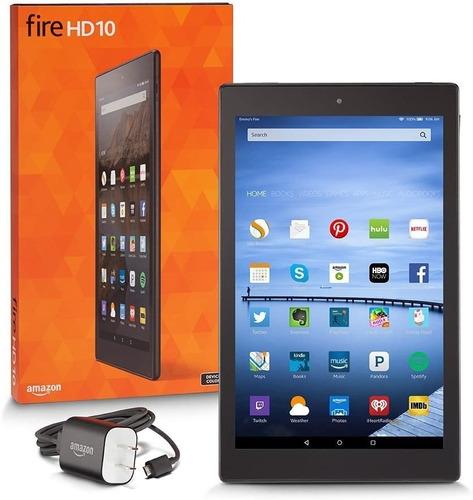 Tablet Amazon Fire Hd 10  Tienda Virtual Un Año De Garantía