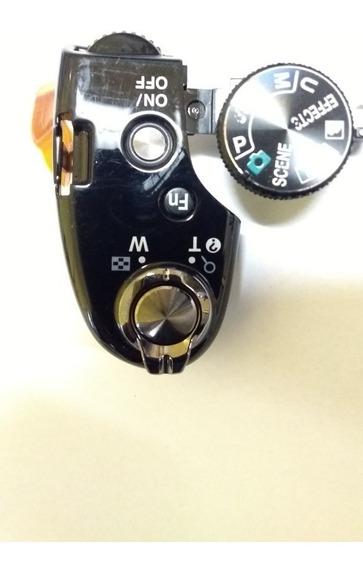 Botão Disparo Nikon P520 P530 Com Disco Funções Novo