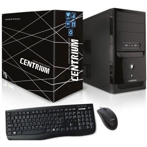 Computador Intel Fastline Core I3-8300 4gb Ddr4 500gb Linux