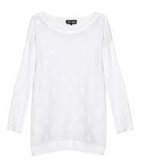 Remera Sweater Tejida Diseño