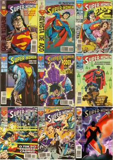 Super Homem 1ª Série - 1994-1996 - Abril - 4,00 Cada