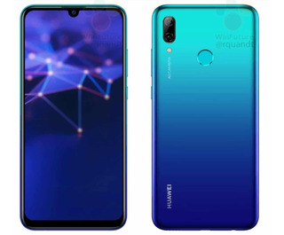 Huawei P Smart 2019 64gb Aurora Blue + Case+ Pelicula Vidro