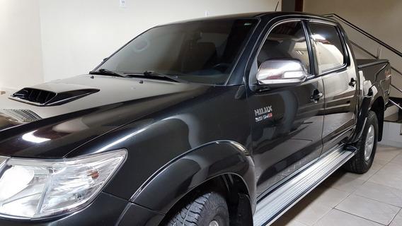 Toyota Hilux 4x4 Srv 3.0 Cb Diesel 2013/2013 Preta