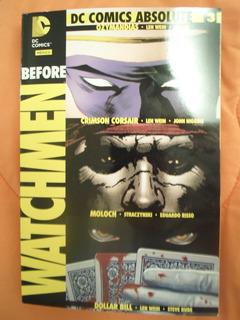 Dc Comics Before Watchmen Volumen 3 Absolute Latino