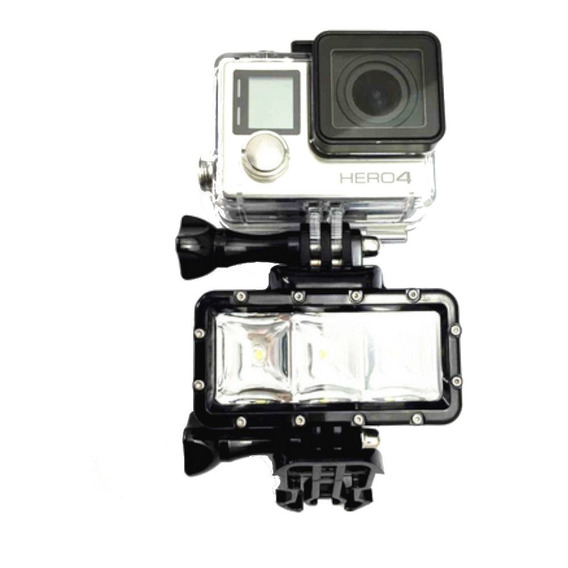 Gopro Acessorio - Luminária Pro Led Light Flash Hero 3+
