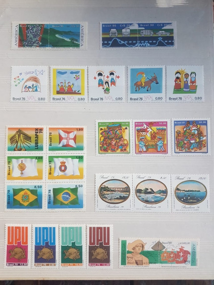 Brasil : 8 Series Mint Completas