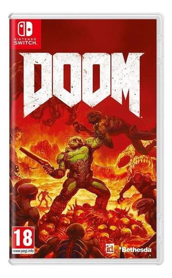 Doom Switch Mídia Física Novo Lacrado