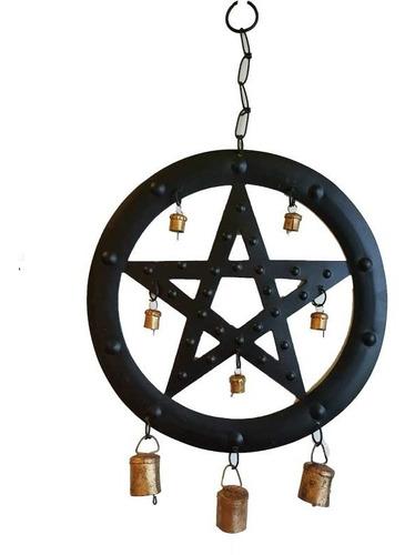 Campana De Viento Del Pentagrama