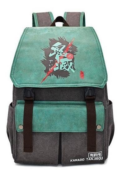 Mochila Demon Slayer Kimetsu No Yaiba Importada