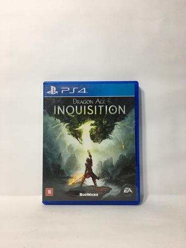Imagem 1 de 1 de Dragon Age Inquisition Ps4 Usado