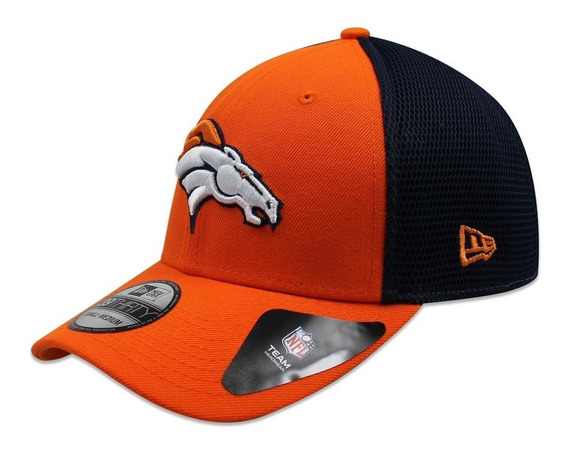 Gorra New Era 39 Thirty Nfl Broncos 2t Sided Naranja