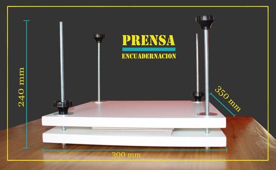 Prensa Encuadernación Artesanal Melamina Profesional Unica