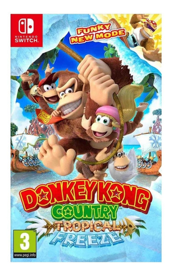 Donkey Kong Country Tropical Freeze - M Física (switch) Nv