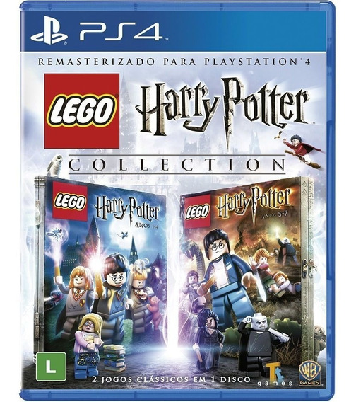 Game - Lego Harry Potter Collection - Ps4 Midia Fisica