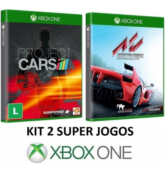 Project Cars + Assetto Corsa Midia Fiscia Lacrado - Xbox One