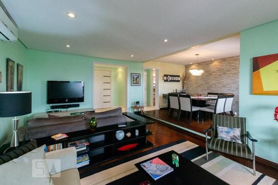 Apartamento No 12º Andar Mobiliado Com 3 Dormitórios E 2 Garagens - Id: 892985054 - 285054