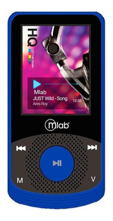 Mlab Reproductor Mp4 8gb Rubber Blue - Mobilehut