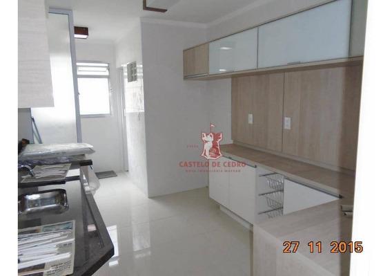 Apartamento Reformado, Centro, São Vicente, Próximo Ao Shopping. - Ap1348