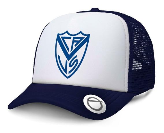 Gorra Trucker Club Atlético Vélez Sarsfield Futbol Argentino
