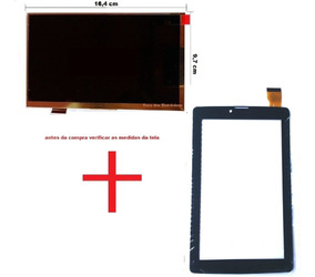 Display Lcd + Tela Touch Vidro Tablet How Max Ht 705g 3g
