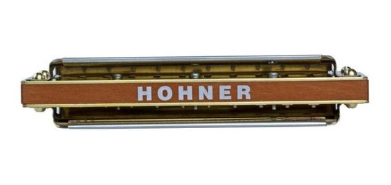 Hohner - Gaita Harmônica Marine Band Deluxe 2f