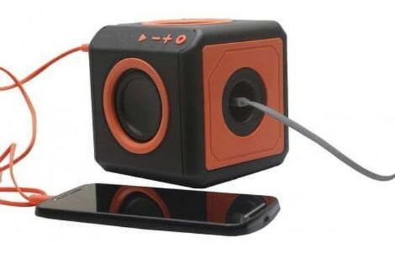 Caixa De Som Bluetooth Punch Áudio 360 Graus