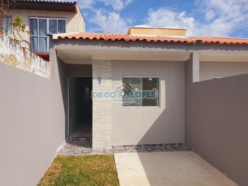 Casa Nova Em Campo De Santana - Curitiba, Pr - 1026