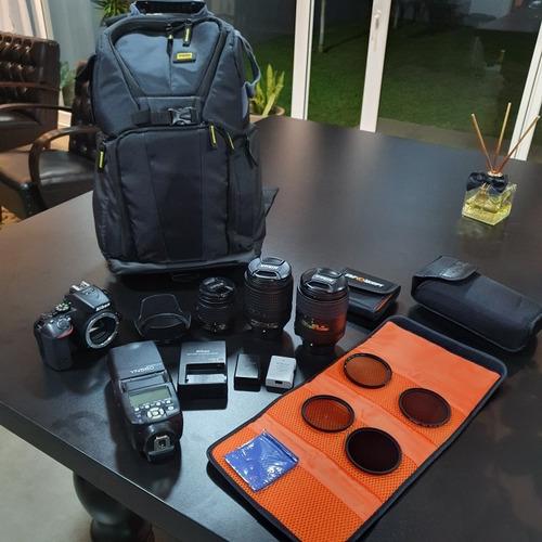 Câmera Nikon D5500 + Lentes E Acessórios