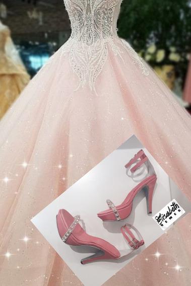 Zapatos De Fiesta Princesa Camila By Elisabeth Remes