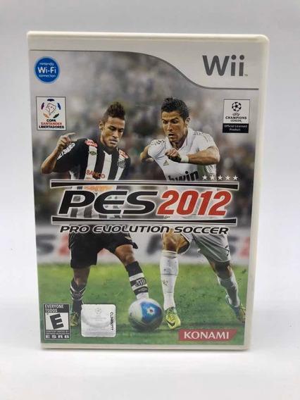 Pes 2012 Nintendo Wii Original Completo Americano