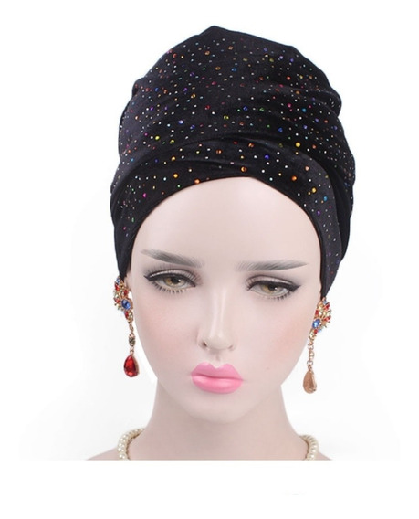 Turbante Estoperol Accesorio Alopecia Quimio Moda Musulmana