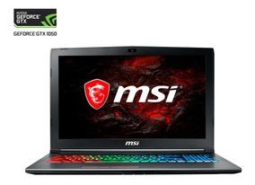 Nvidia Laptop Msi Gf62 7re Geforce Gtx1050 Ti 4g / I7-7700hq